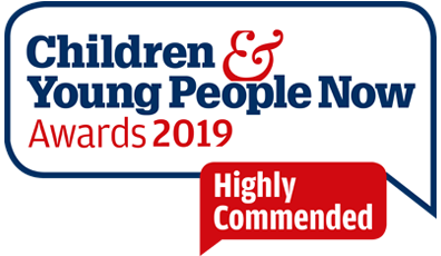 Children & Young People Now Awards 2019 Highly Commended