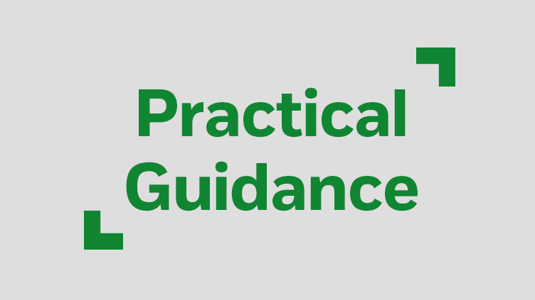 Practical Guidance